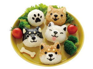 Puppy Rice Shaper Set  **LAST ONE!** - phunkyBento