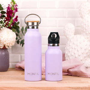 MontiiCo Mini Insulated Drink Bottle (350ml) - Lavender