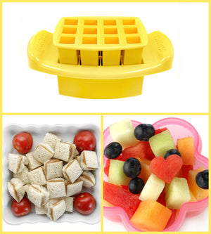 FunBites Sandwich Cutter - Squares - phunkyBento