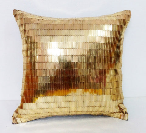 glitzy cushion