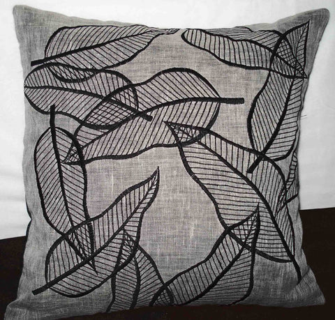 unique leaf cushion