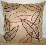 unique leaf pillow