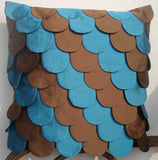 Blue mermaid pillow - TATVAKALA Home