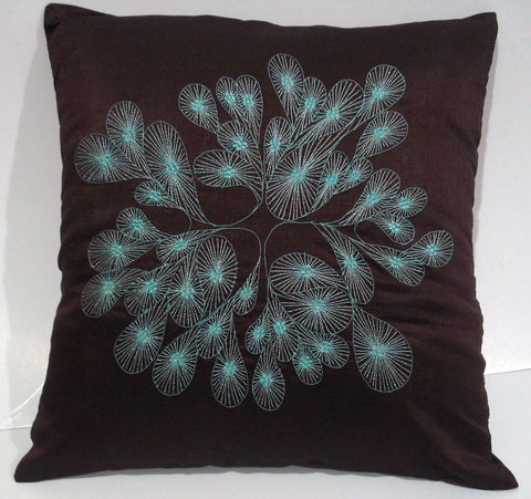 brown decorative pillow