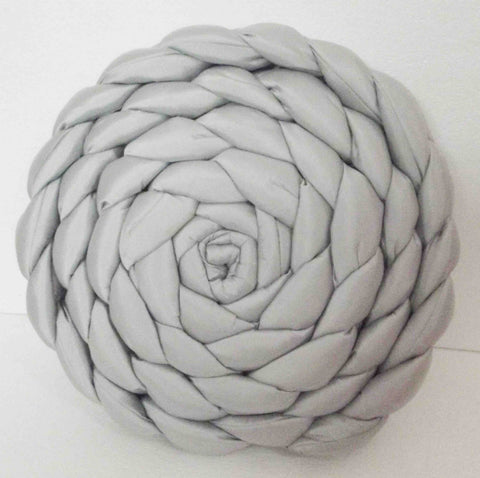 braided pillow
