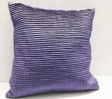 pleated light purple cushion decorative cushion modern pillow home decor bed pillow sofa pillow sewing pattern bedroom decor silk cushion - TATVAKALA Home
