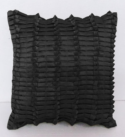black cushion decorative cushion modern pillow home decor bed pillow sofa pillow sewing pattern bedroom decor silk cushion - TATVAKALA Home