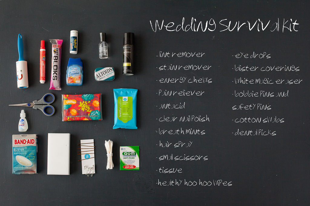 Wedding Day Survival Kit | healthy hoohoo