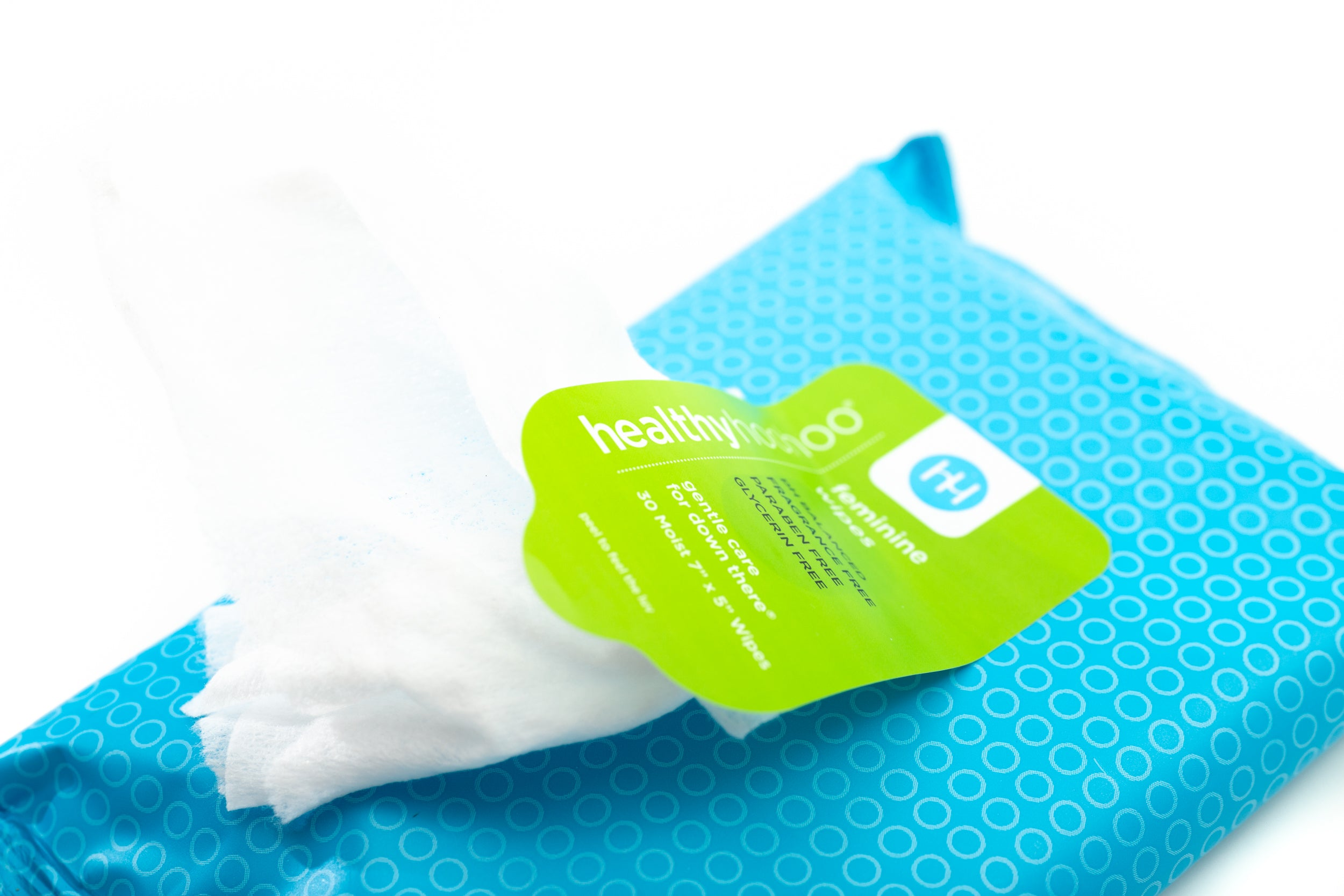 healthy hoohoo unscented feminine wipes