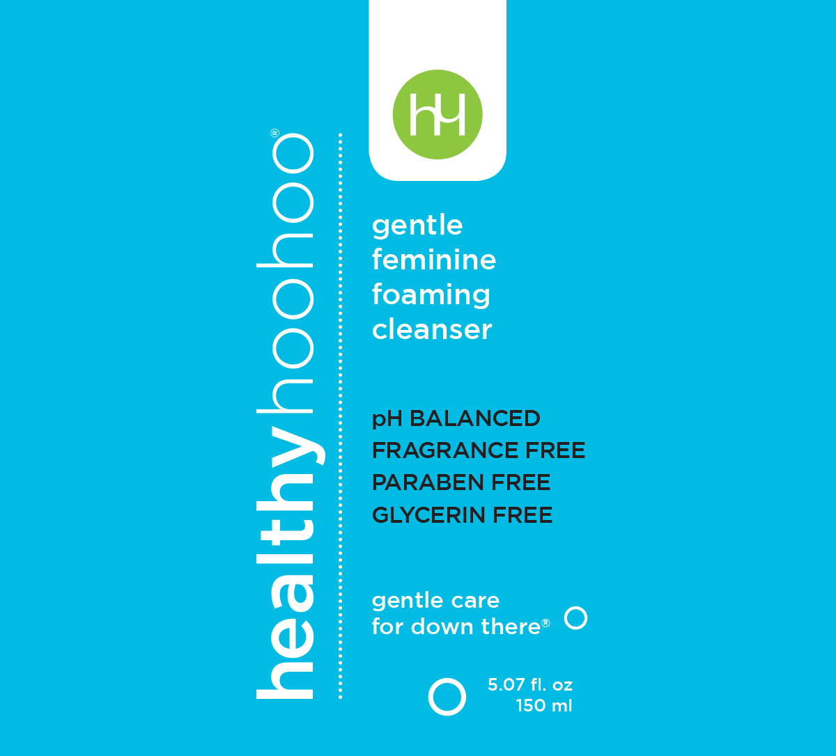 healthy hoohoo feminine wash is ph balanced, fragrance free, paraben free and glycerin free