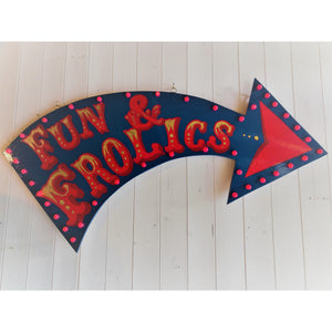 Fun & Frolics Circus Style Large Arrow