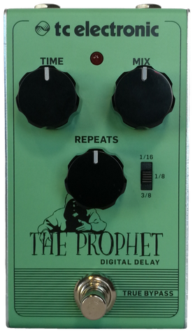 TC Electronics The Prophet digital delay effects pedal