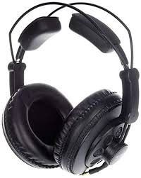Superlux HD668B pro studio headphones