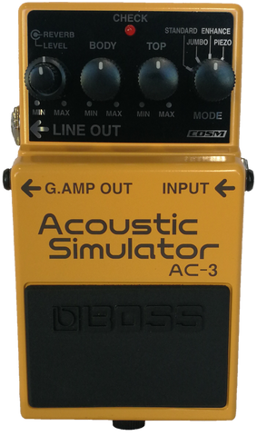 Boss Acoustic simulator pedal AC-3