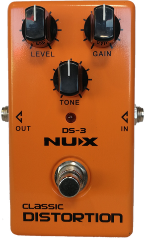 Nux Classic Distortion Effects Pedal DS-3