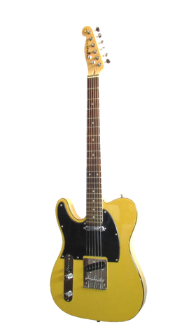 Chord electric guitar left-handed butterscotch