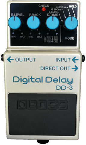 Boss Digital delay pedal DD-3