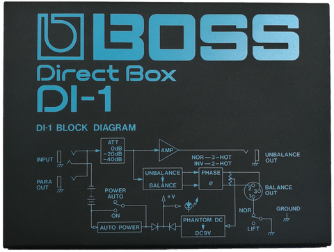 Boss DI-1 Direct Box DI-1
