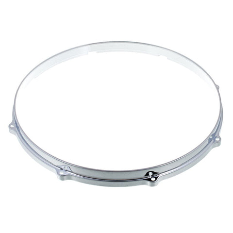 "Dixon 14"" die cast snare hoop batter side with 8 or 10 holes"