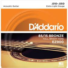 D'Addario Acoustic 6 String Bronze Strings
