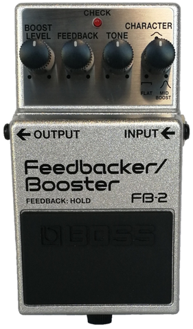 Boss Feedbacker/Booster Pedal FB-2 ON SPECIAL