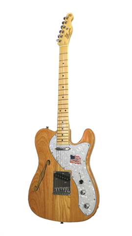Sx Thinline Telecaster Style Hollow body Electric Guitar