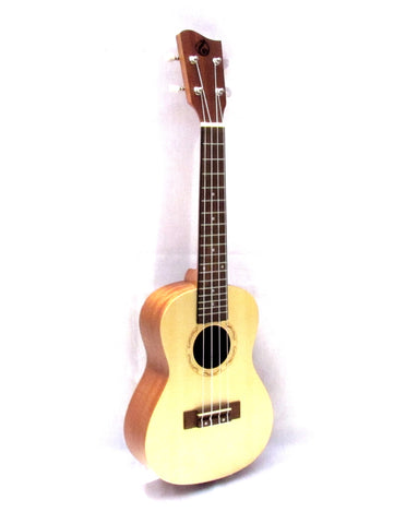 "Grape 24"" concert Spruce Top ukulele GKC-50M"