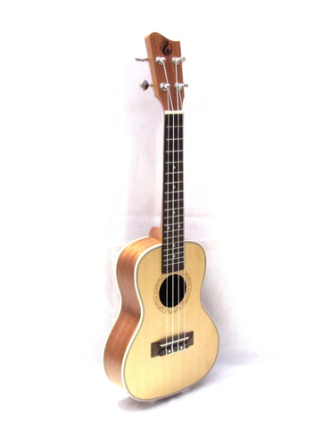 "Grape 24"" concert Spruce Top ukulele GKC-50"