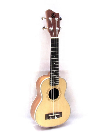 "Grape 21""spruce top soprano ukulele GKS-50"
