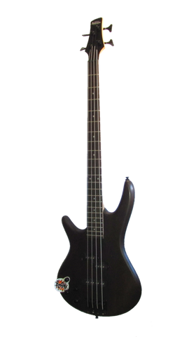 Electric bass guitar Ibanez 4 string left handed GSR200BL-WNF