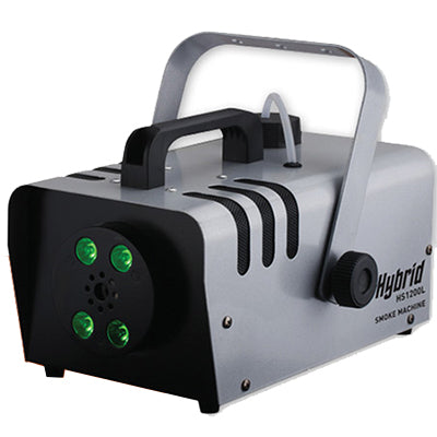 Hybrid HS1200L smoke machine with built in lights