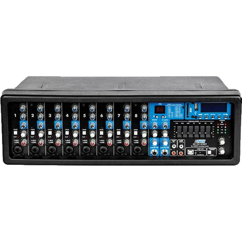 Hybrid M12218DBT 8 Channel powered mixer 2x300W RMS