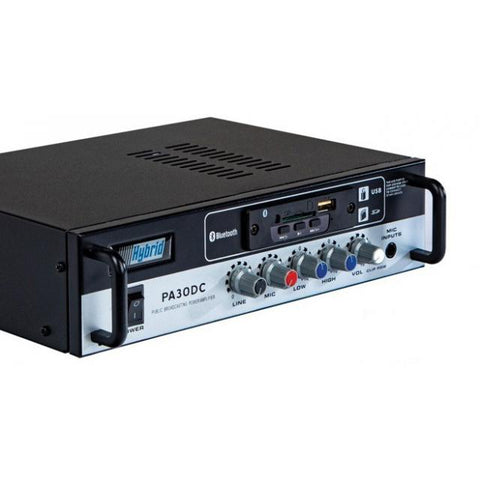 Hybrid PA30DC battery mains 20W amplifier