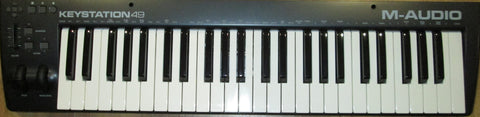 M-Audio Keystation49ES midi keyboard controller