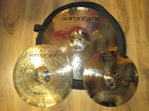 Istanbul Samatya cymbal set- Made in Turkey
