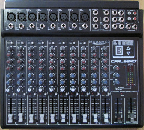 Carlsbro 12 channel mixer MA3450 Special price