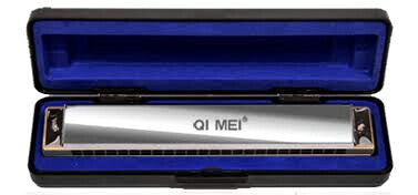 QI Mei 24 hole harmonica key of C