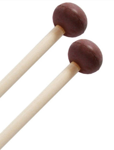BK Xylophone Mallets Maple with Rubber Ends