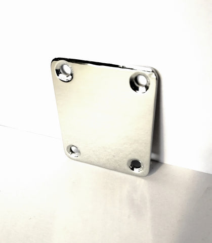 Plate neck joint chrome with screws