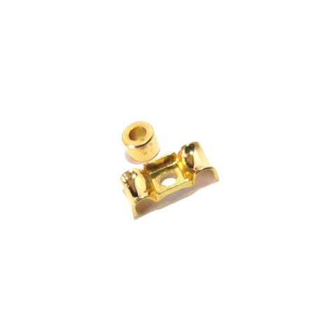Bass string retainer gold