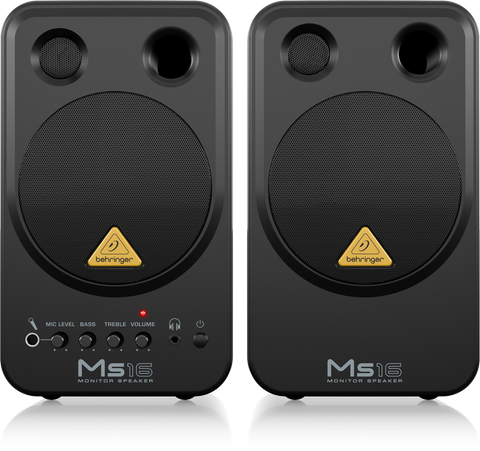 Behringer MS-16EU speaker monitors