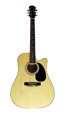 Maxwell acoustic electric guitar MX-W41CE
