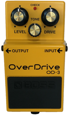 Boss Overdrive Pedal OD-3 ON SPECIAL