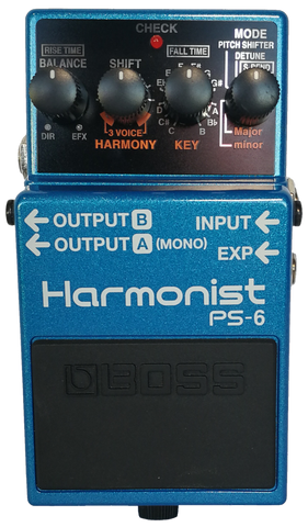 Boss Harmonist Effects Pedal PS-6