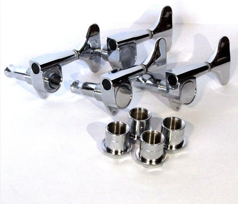 Machine heads die cast bass 4 left chrome