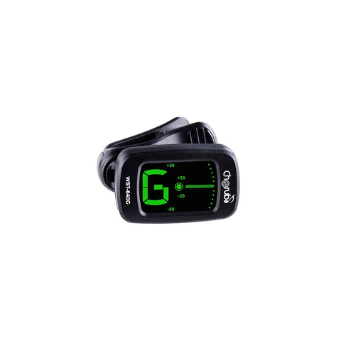 Cherub WST640C auto on chromatic clip on tuner