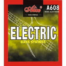 Alice electric bass guitar strings 4 string set available in light & Medium
