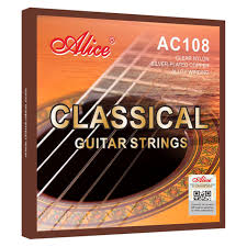 Alice classical guitar strings normal or hard tension-AC108