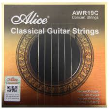 Alice classical guitar strings in hard or normal tension