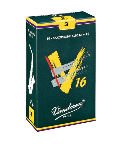 Vandoren Alto Saxophone V16 Reed Priced per Each